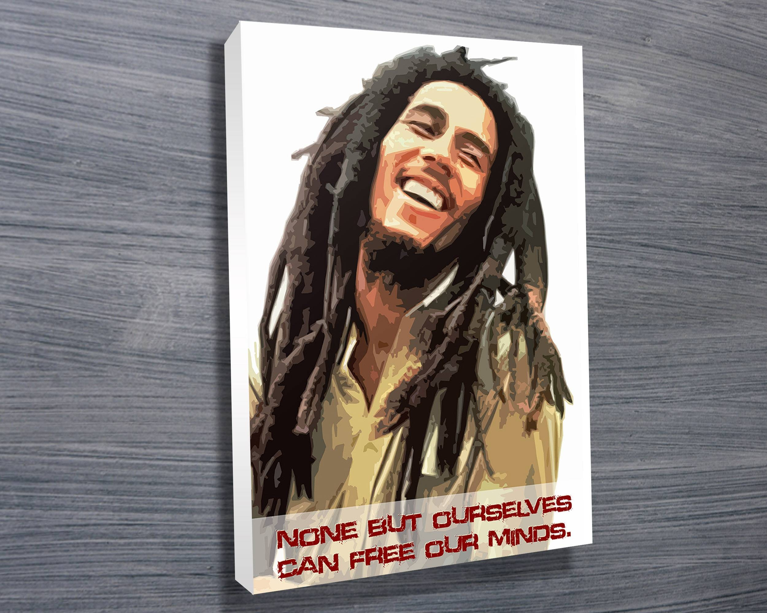 Bob Marley Art – Canvas Prints Australia Within Most Current Bob Marley Canvas Wall Art (View 5 of 25)