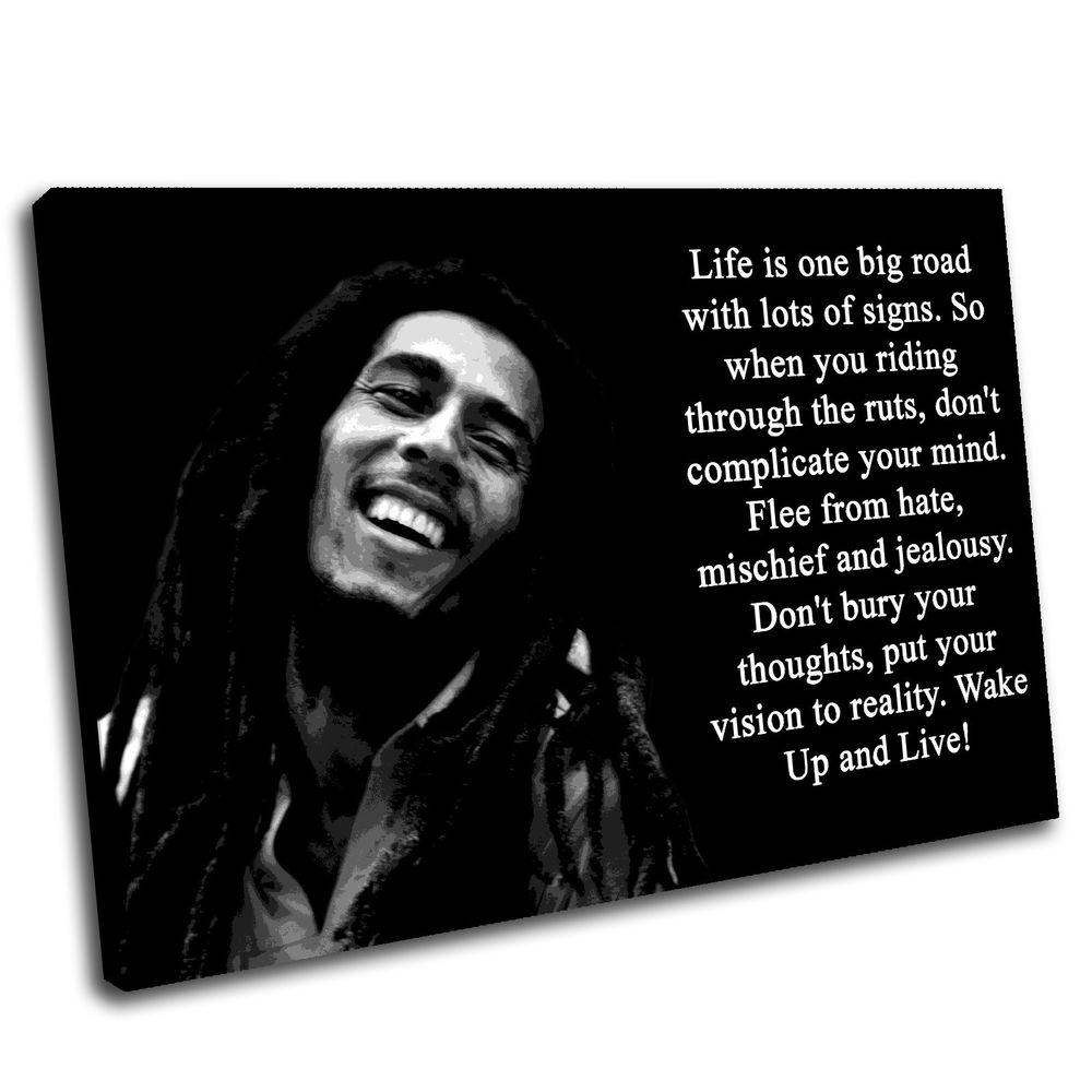 Bob Marley Canvas Wall Art Print Framed Picture Premium Quality | Ebay In Current Bob Marley Canvas Wall Art (View 8 of 25)