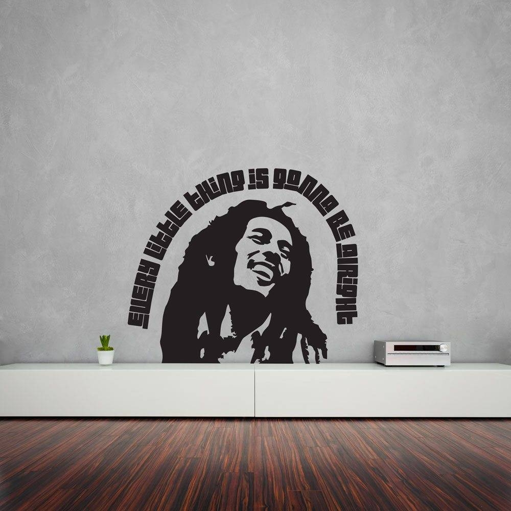 Bob Marley Every Little Thing Wall Art | Vinyl Revolution In Newest Bob Marley Wall Art (View 8 of 30)