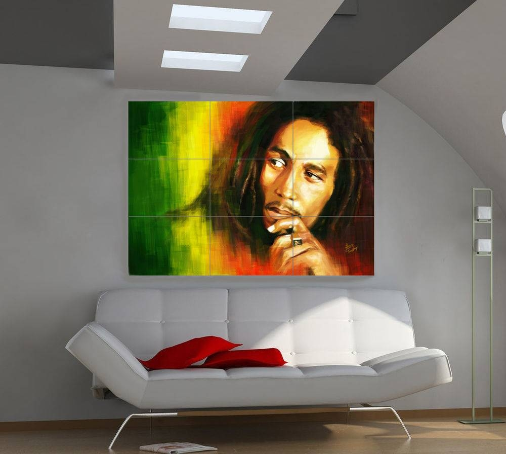 "Bob Marley Huge Art Giant Poster Wall Print 39""x57"" A508 