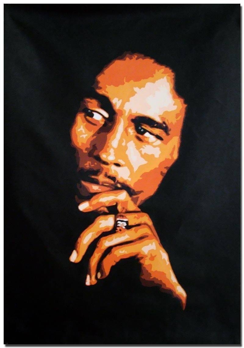 Bob Marley Wall Canvas – Todosobreelamor Within Most Popular Bob Marley Canvas Wall Art (View 12 of 25)