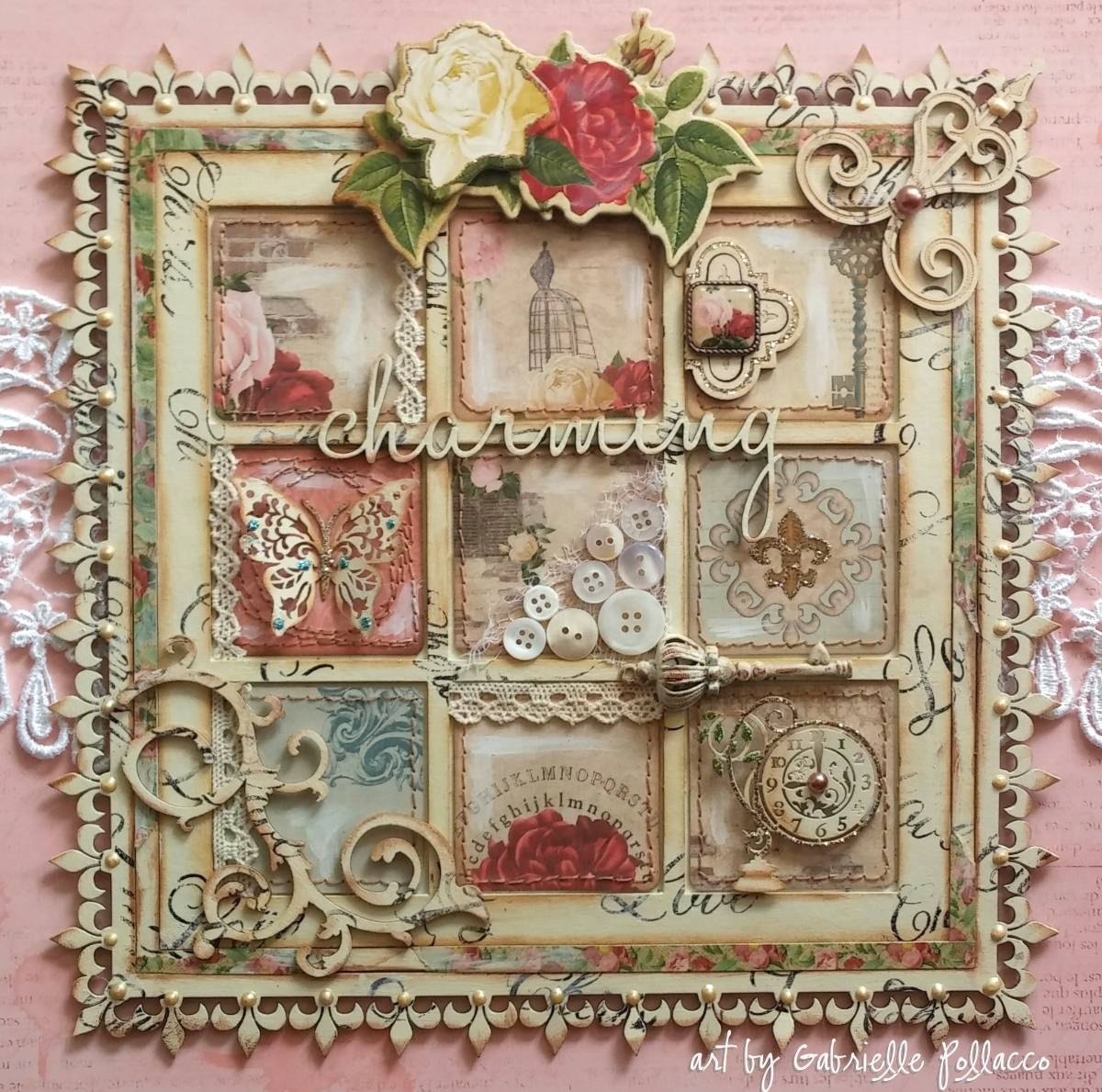 Bobunny: Shabby Chic Juliet Wall Art Throughout Best And Newest Shabby Chic Wall Art (View 2 of 30)