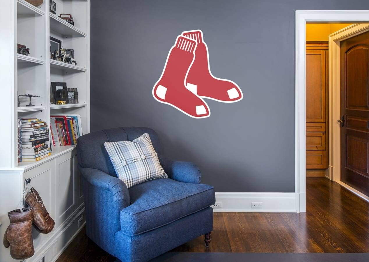 Featured Photo of Red Sox Wall Decals
