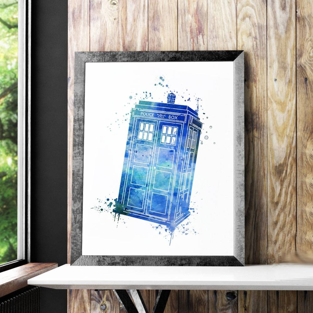 Box Wall Art – Wall Murals Ideas Pertaining To 2017 Doctor Who Wall Art (View 11 of 33)