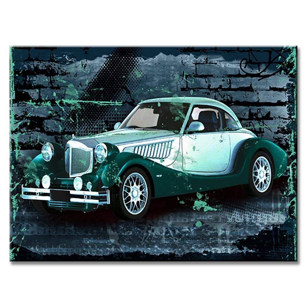Brand New Still Life Canvas Painting Rolls Royce Classic Car Throughout Most Current Classic Car Wall Art (View 8 of 25)
