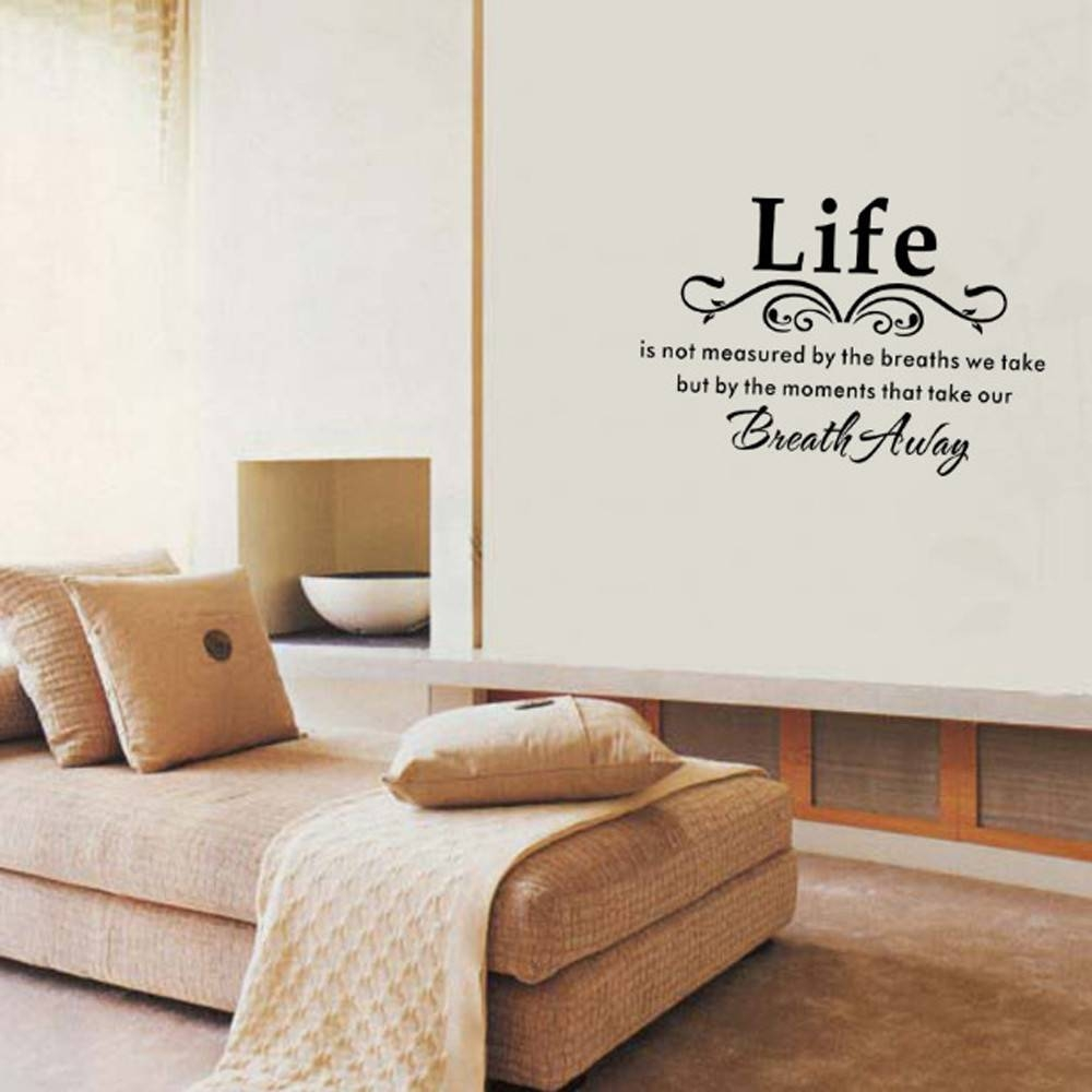 Brand New Wall Stickers Removable Decal Home Decor High Quality In 2018 Space 3D Vinyl Wall Art (View 15 of 20)