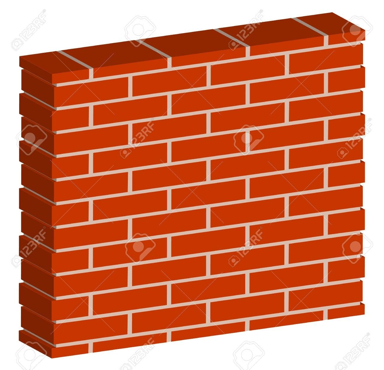 Brick Clipart 3D Intended For 2017 3D Brick Wall Art (View 8 of 20)