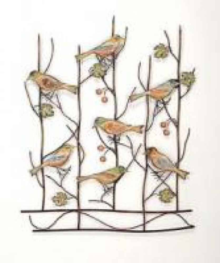Brilliant 70+ Metal Bird Wall Decor Inspiration Of Darla Metal Intended For Current Flock Of Birds Metal Wall Art (View 10 of 30)