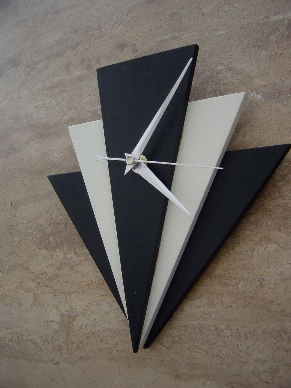 Brilliant Decoration Art Deco Wall Clock Exclusive Design Art Deco Inside Recent Art Deco Wall Clocks (Gallery 16 of 25)