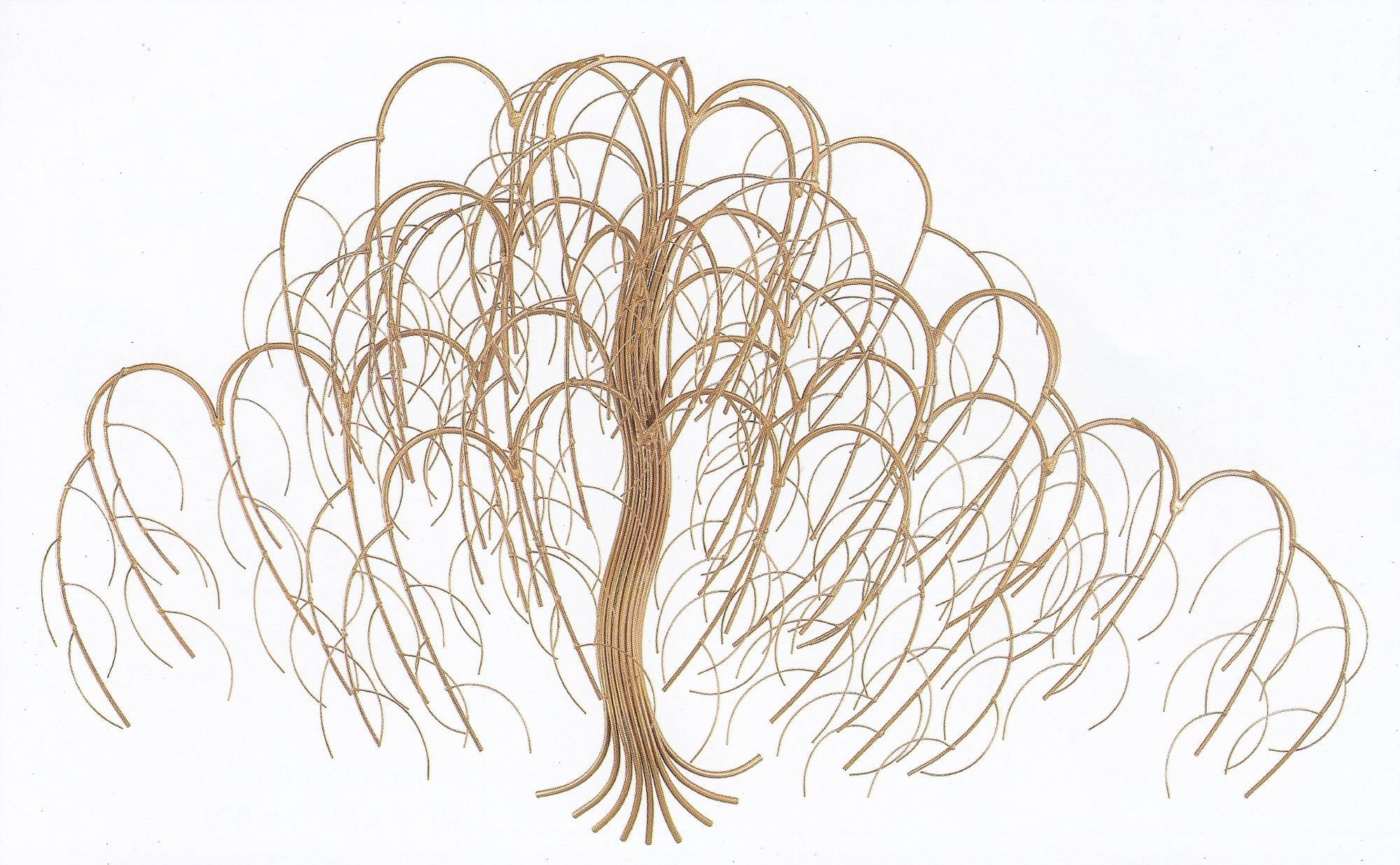 Bronze Tree Metal Wall Art – Metal Wall Sculpture – Home Decor Intended For Latest Bronze Tree Wall Art (View 2 of 25)