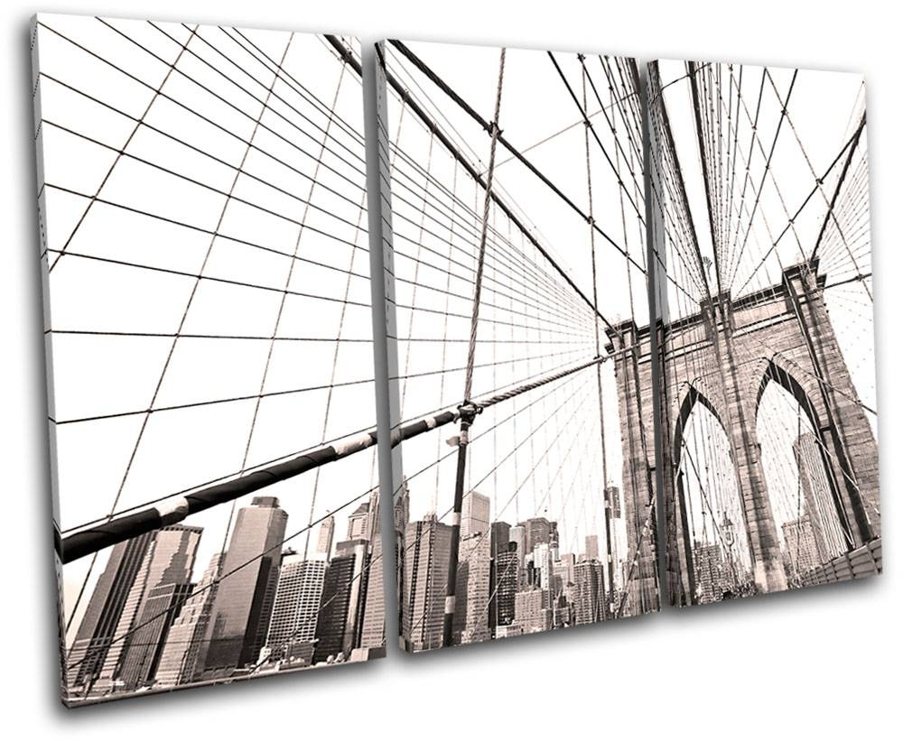 Brooklyn Bridge Wall Art | Nikeweekend Pertaining To Newest Brooklyn Bridge Wall Decals (View 15 of 25)