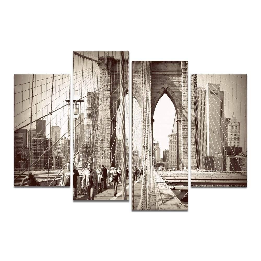 Brooklyn Bridge Wall Art | Nikeweekend Throughout Most Recent Brooklyn Bridge Wall Decals (View 14 of 25)