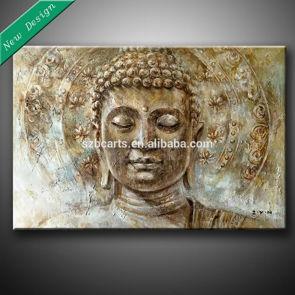 Buddha Painting, Buddha Painting Suppliers And Manufacturers At With Most Popular 3D Buddha Wall Art (View 8 of 20)