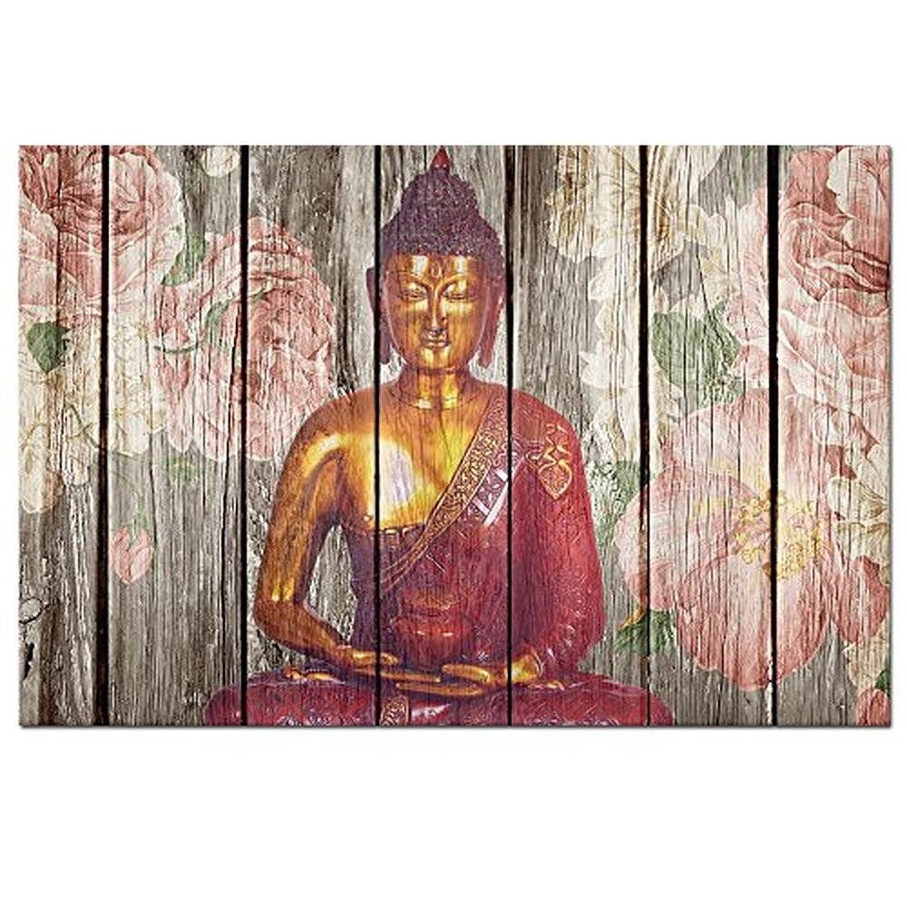 Buddha Wooden Wall Art – Wall Murals Ideas With Most Recent Buddha Wood Wall Art (View 3 of 20)