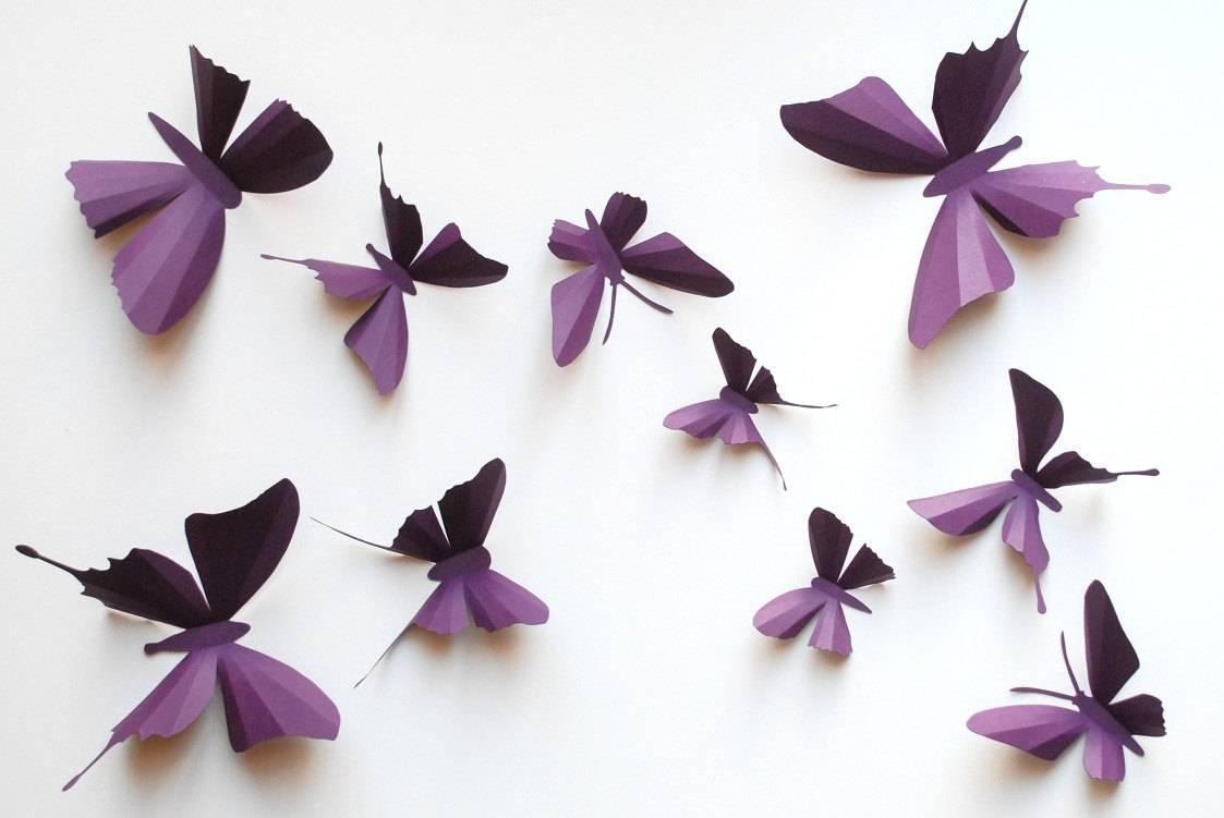 Butterfly Wall Art Decals | Wallartideas Regarding Most Up To Date Wetherill Park 3d Wall Art (View 18 of 20)