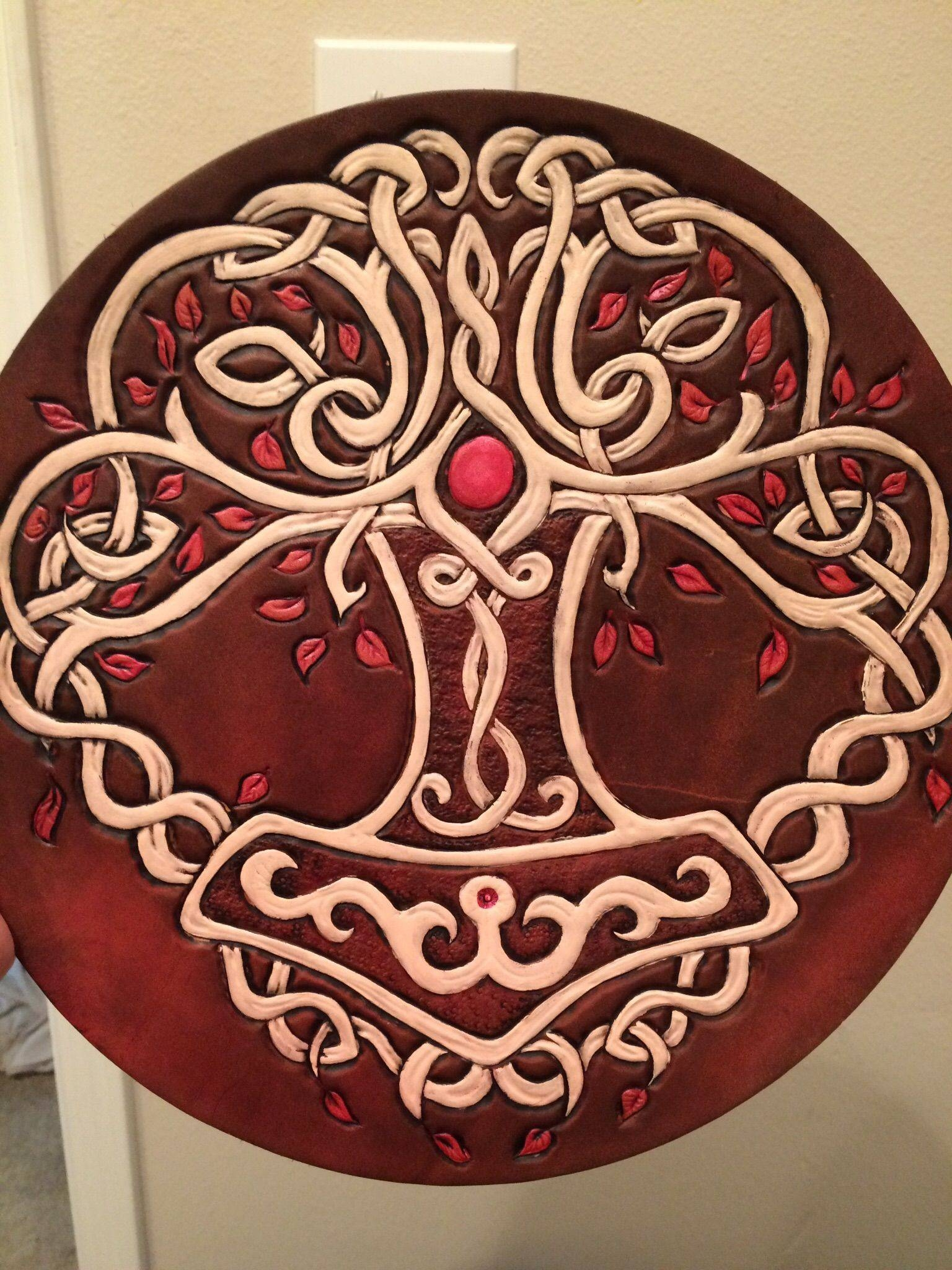 Buy A Hand Crafted Celtic/viking/norse Tree Of Life Trivet, Made With Regard To Most Current Celtic Tree Of Life Wall Art (View 6 of 30)