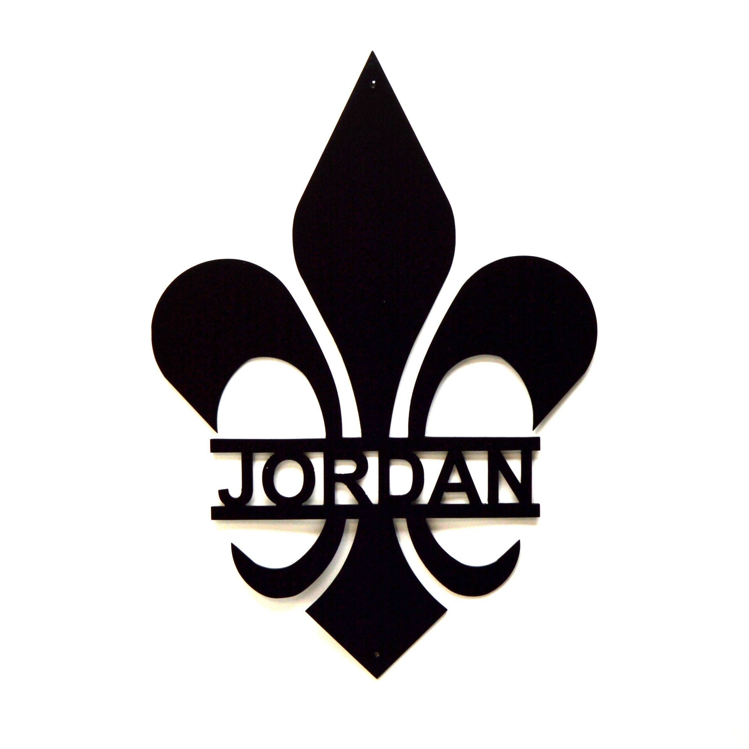 Buy A Hand Made Personalized Fleur De Lis Metal Wall Art, Made To With Most Popular Fleur De Lis Metal Wall Art (View 20 of 25)