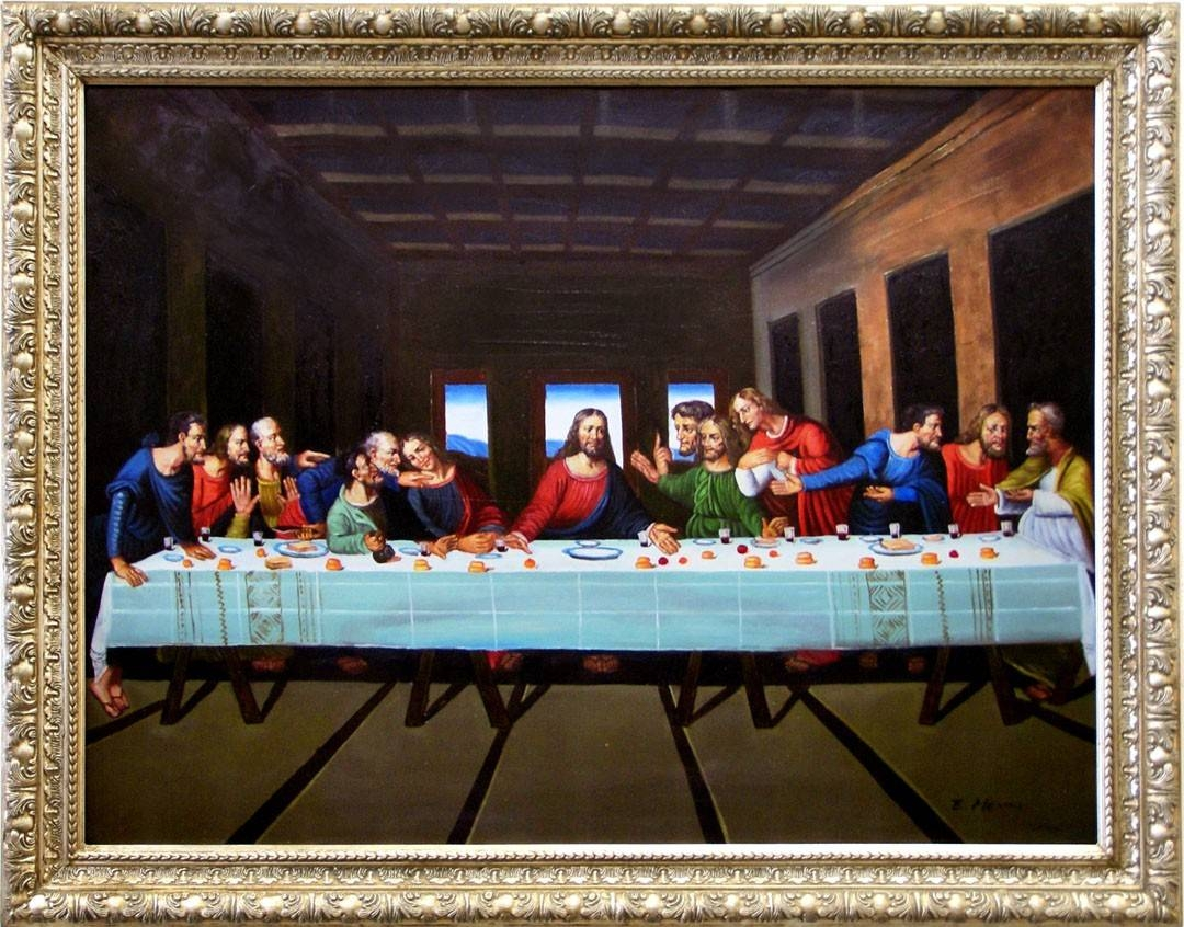 Buy Furniture Of America Ap 3648 A7 Last Supper Wall Art Regarding 2018 Last Supper Wall Art (View 8 of 20)