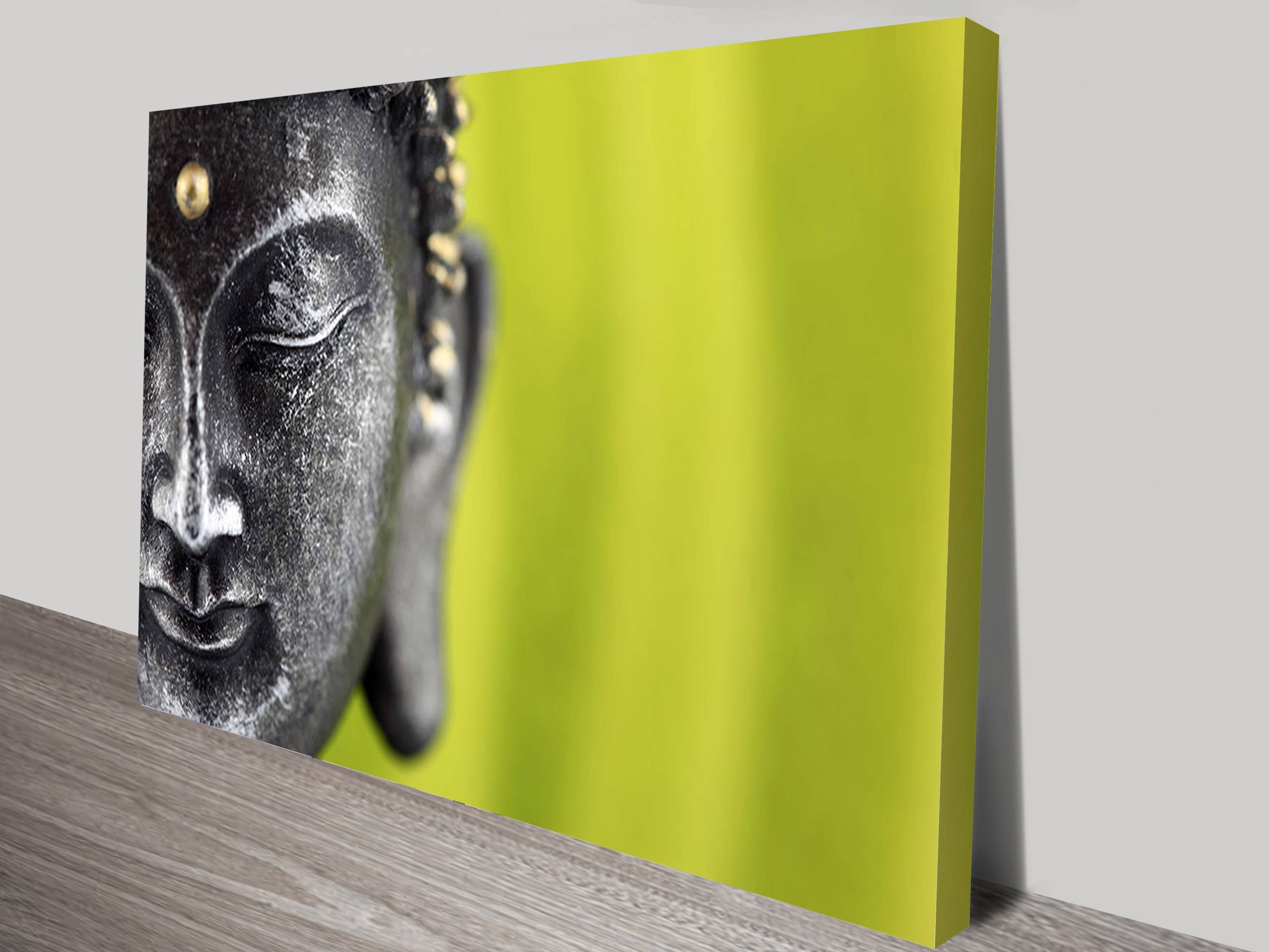 Buy Spirituality & Buddha Wrapped Canvas Prints & Wall Art Online Within Current Silver Buddha Wall Art (View 10 of 15)