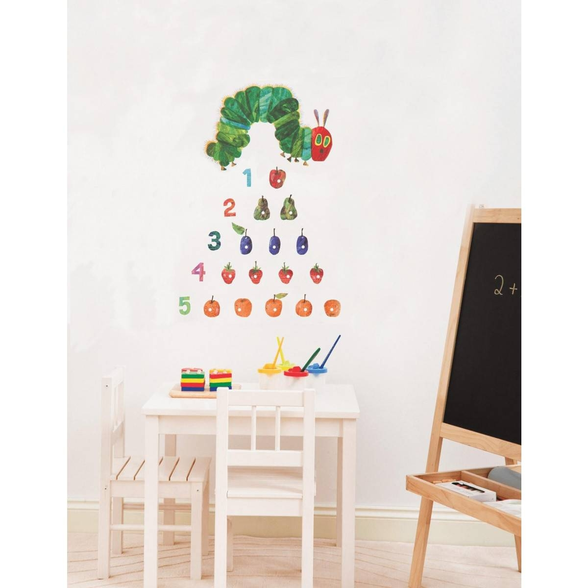 Buy The The Very Hungry Caterpillar 21 Wall Stickers From Hello Baby Regarding Recent The Very Hungry Caterpillar Wall Art (View 4 of 25)