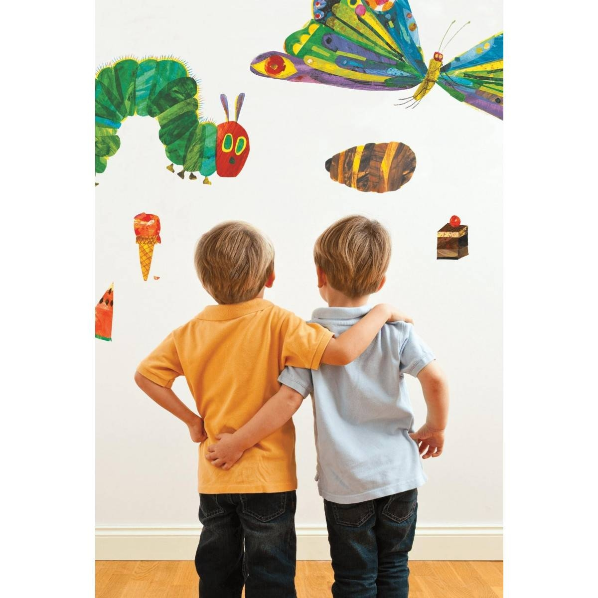 Buy The The Very Hungry Caterpillar 49 Room Decor Stickers From For Most Popular The Very Hungry Caterpillar Wall Art (View 3 of 25)