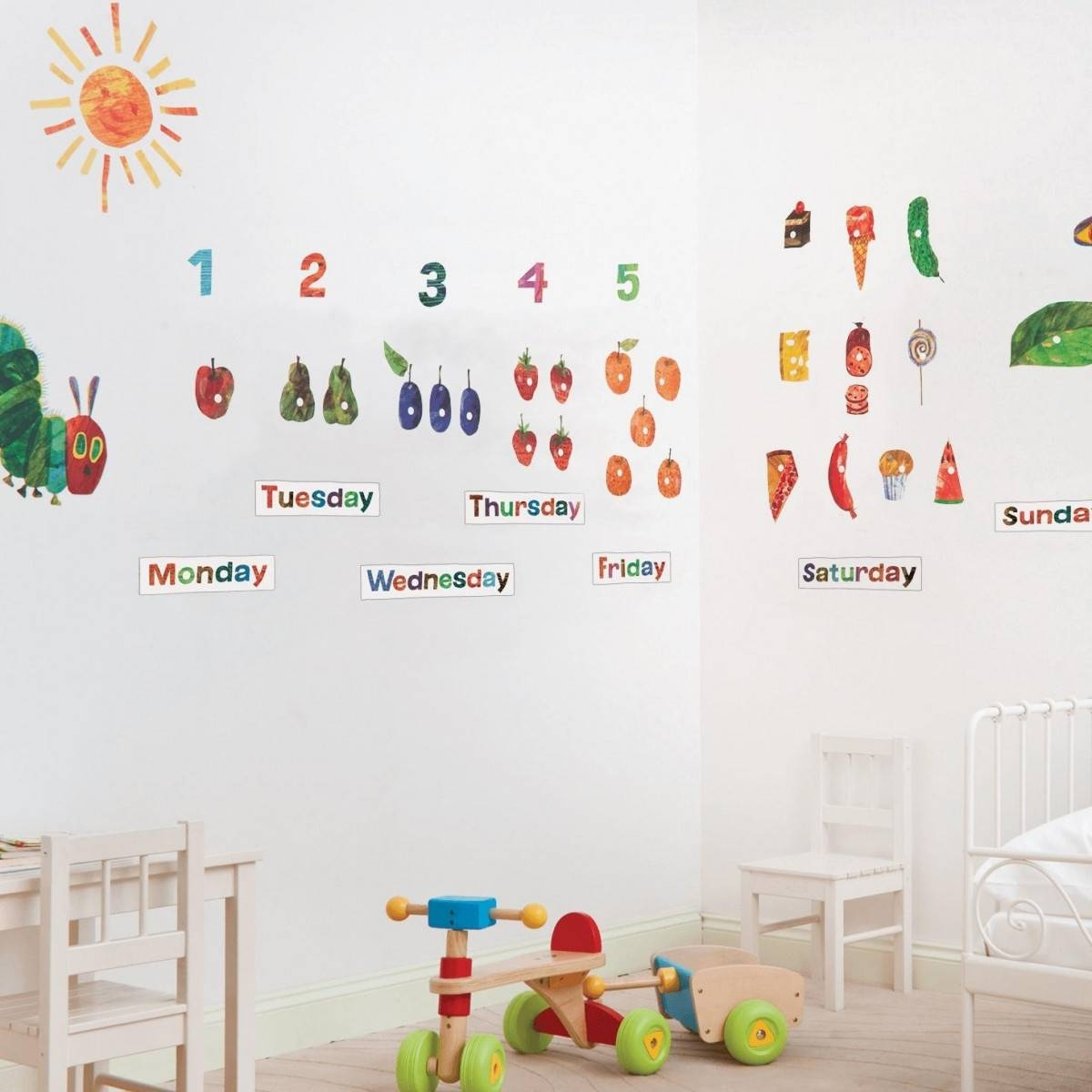 Buy The The Very Hungry Caterpillar 49 Room Decor Stickers From Throughout 2018 The Very Hungry Caterpillar Wall Art (View 16 of 25)