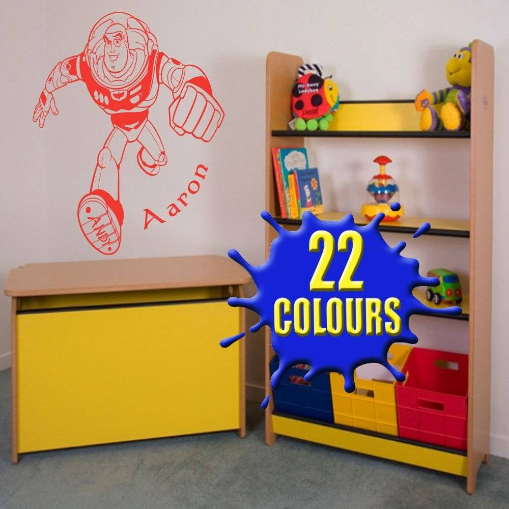 Buzz Lightyear Bedroom Toy Tesco – Toy Story Bedroom | Gaenice Inside Most Popular Toy Story Wall Art (View 10 of 30)