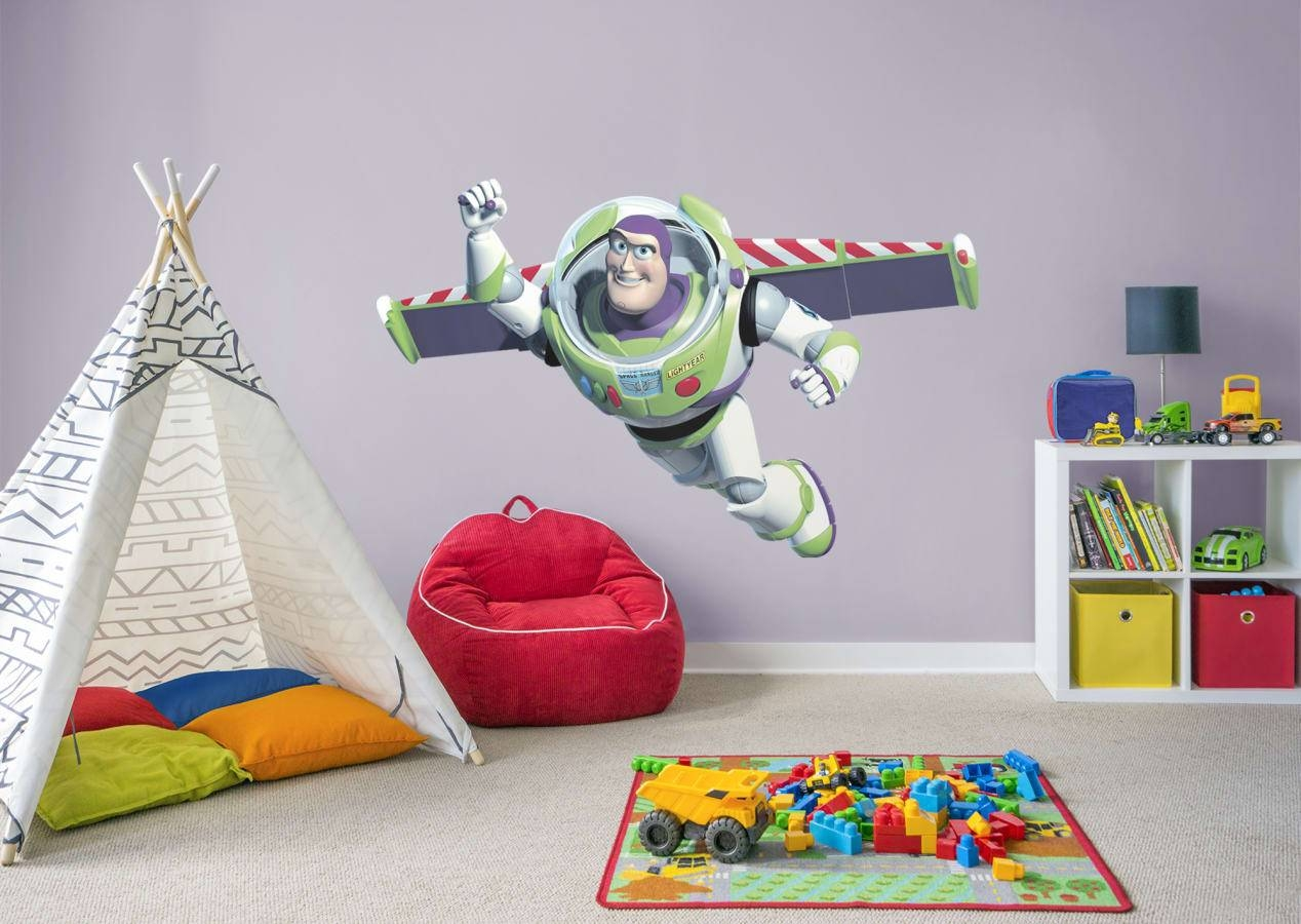 Buzz Lightyear Wall Decal | Shop Fathead® For Toy Story Decor Within 2017 Toy Story Wall Stickers (View 18 of 25)