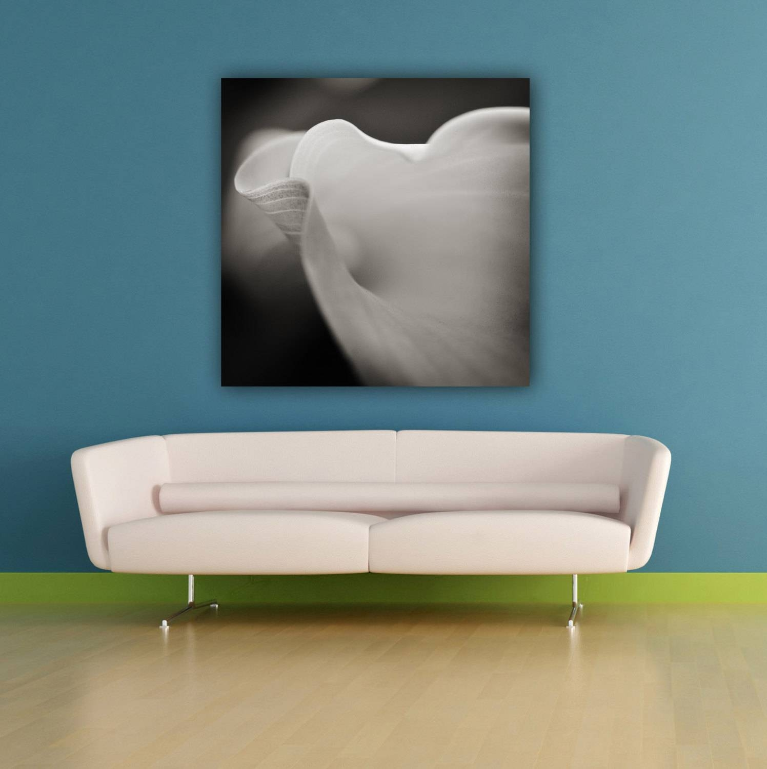Calla Lily Flower Photograph Sensual Black & White Botanical Regarding Recent Sensual Wall Art (View 3 of 20)