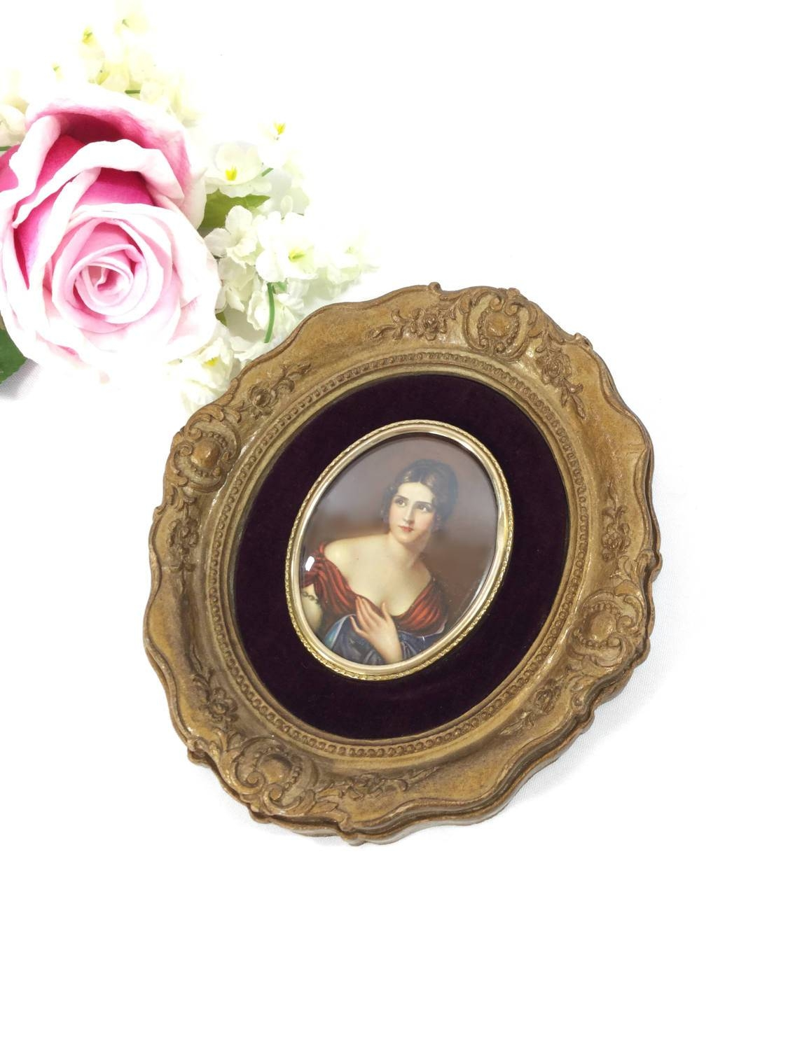 Cameo Creation Victorian Wall Art, Pauline Bonaparte Wall Plaque With Most Recent Cameo Wall Art (View 6 of 20)