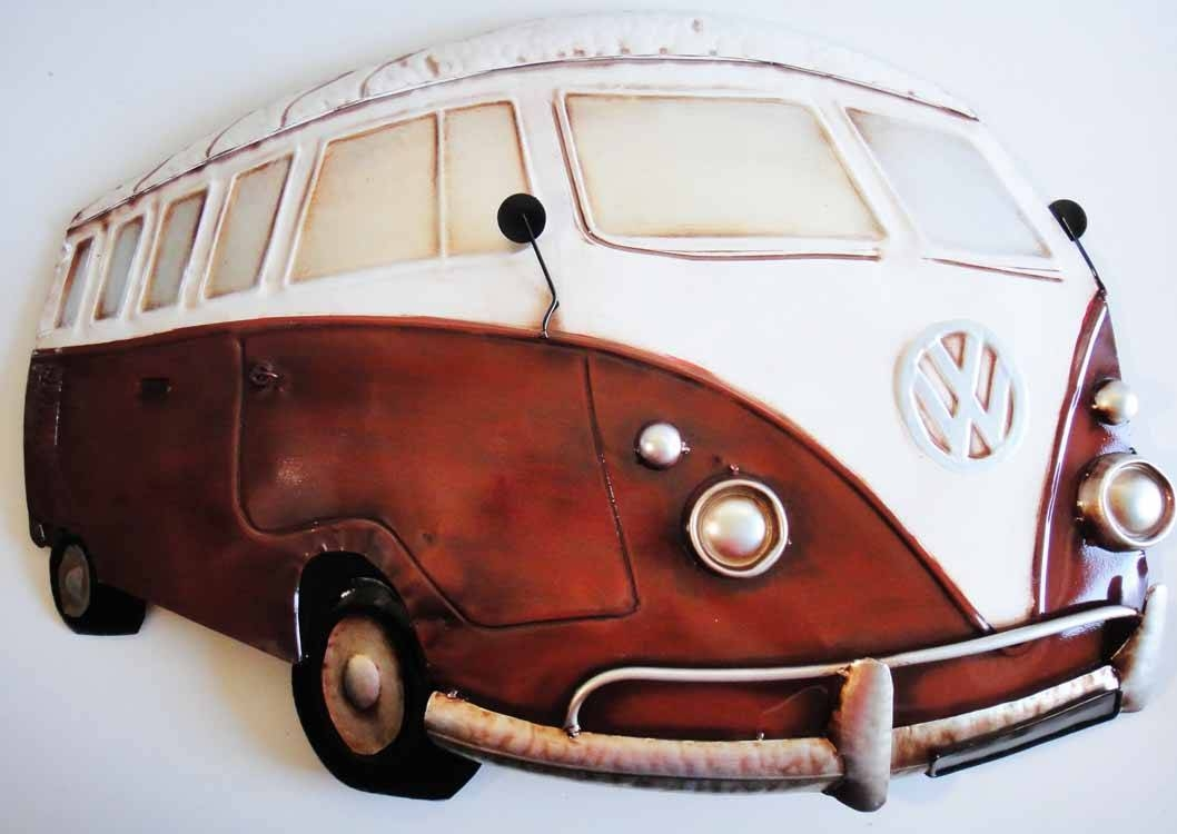 Campervan Metal Wall Art – Wall Murals Ideas Intended For Most Popular Cream Metal Wall Art (View 7 of 20)
