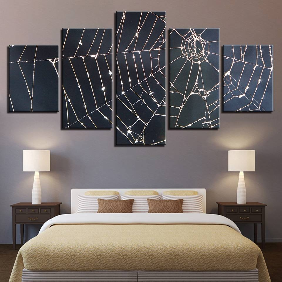 Canvas Paintings Modular Wall Art Framework Home Decor 5 Pieces With Regard To Latest Modular Wall Art (View 12 of 25)