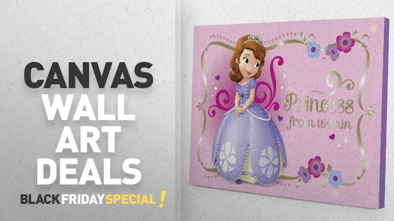 Canvas Wall Art Deals: Disney Sofia The First Led Canvas Wall Art Intended For Most Up To Date Disney Canvas Wall Art (View 6 of 20)