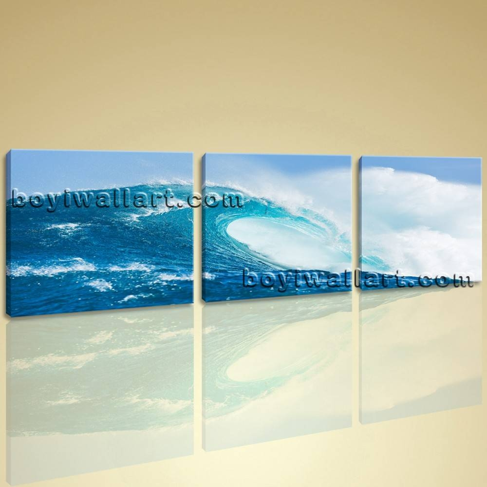 Canvas Wall Art Giclee Prints Ready To Hang 3 Pieces Contemporary In Most Popular Big Canvas Wall Art (View 5 of 20)