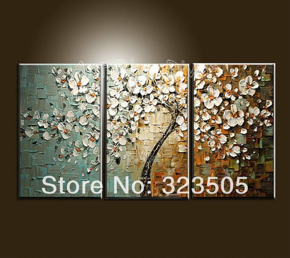 Canvas Wall Art Sets | Roselawnlutheran Intended For Recent 3 Piece Floral Canvas Wall Art (View 4 of 20)