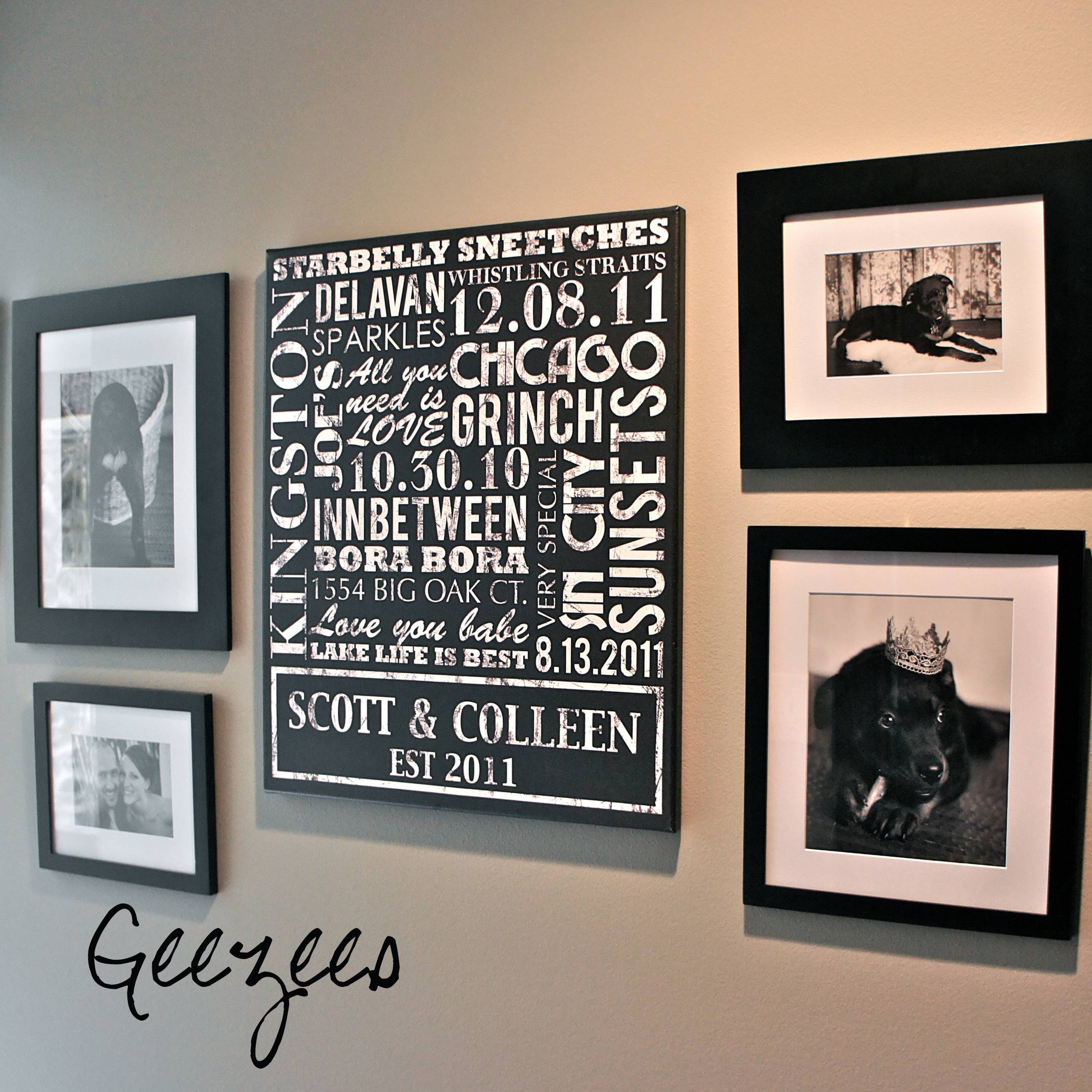 Canvas Wall Art With Words In Best And Newest Custom Canvas Art With Words (View 10 of 20)