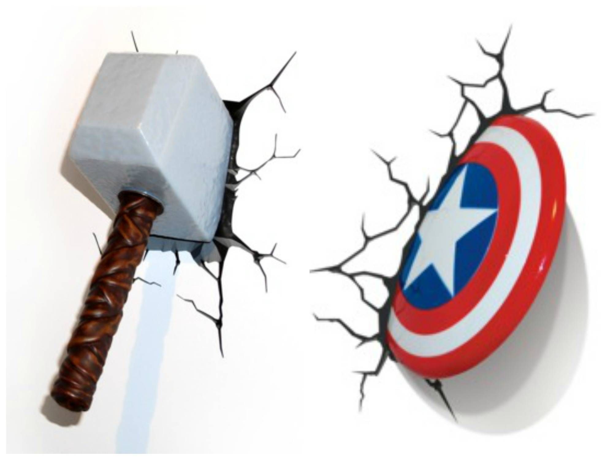 Captivating 40+ 3D Wall Art Nightlight Inspiration Design Of 20 3D In Most Recently Released Marvel 3D Wall Art (View 4 of 20)