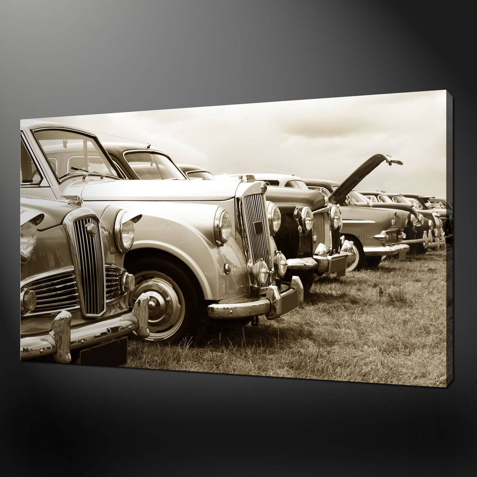 Cars Archives – Canvas Print Art With Regard To Most Recently Released Classic Car Wall Art (View 11 of 25)