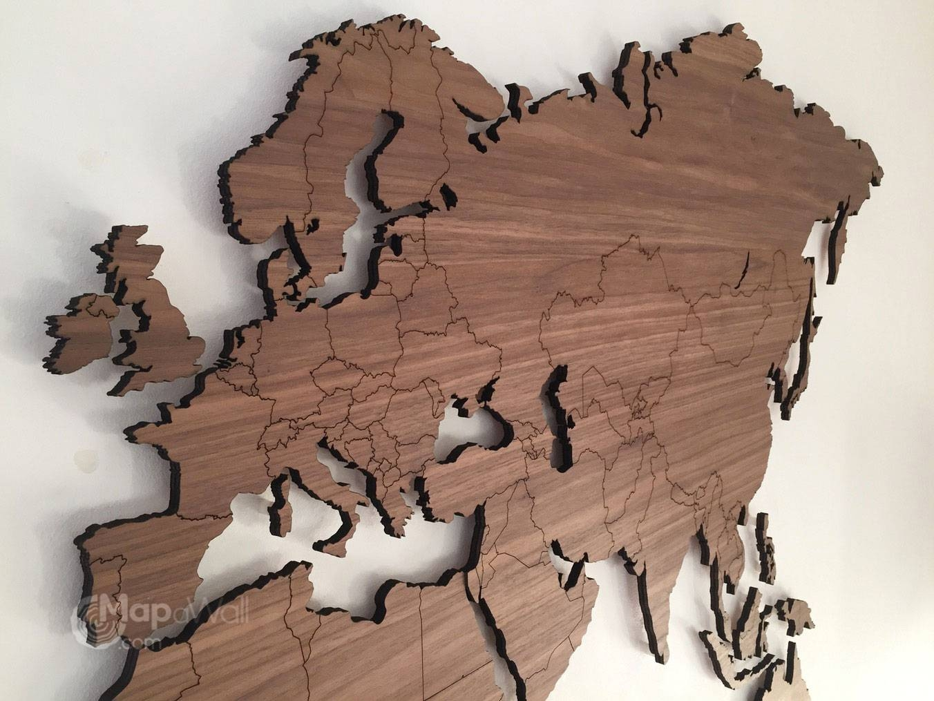 Carved Wooden World Map Wood Wall Art Home Decor At – Besttabletfor Throughout Most Current Wooden World Map Wall Art (View 3 of 20)