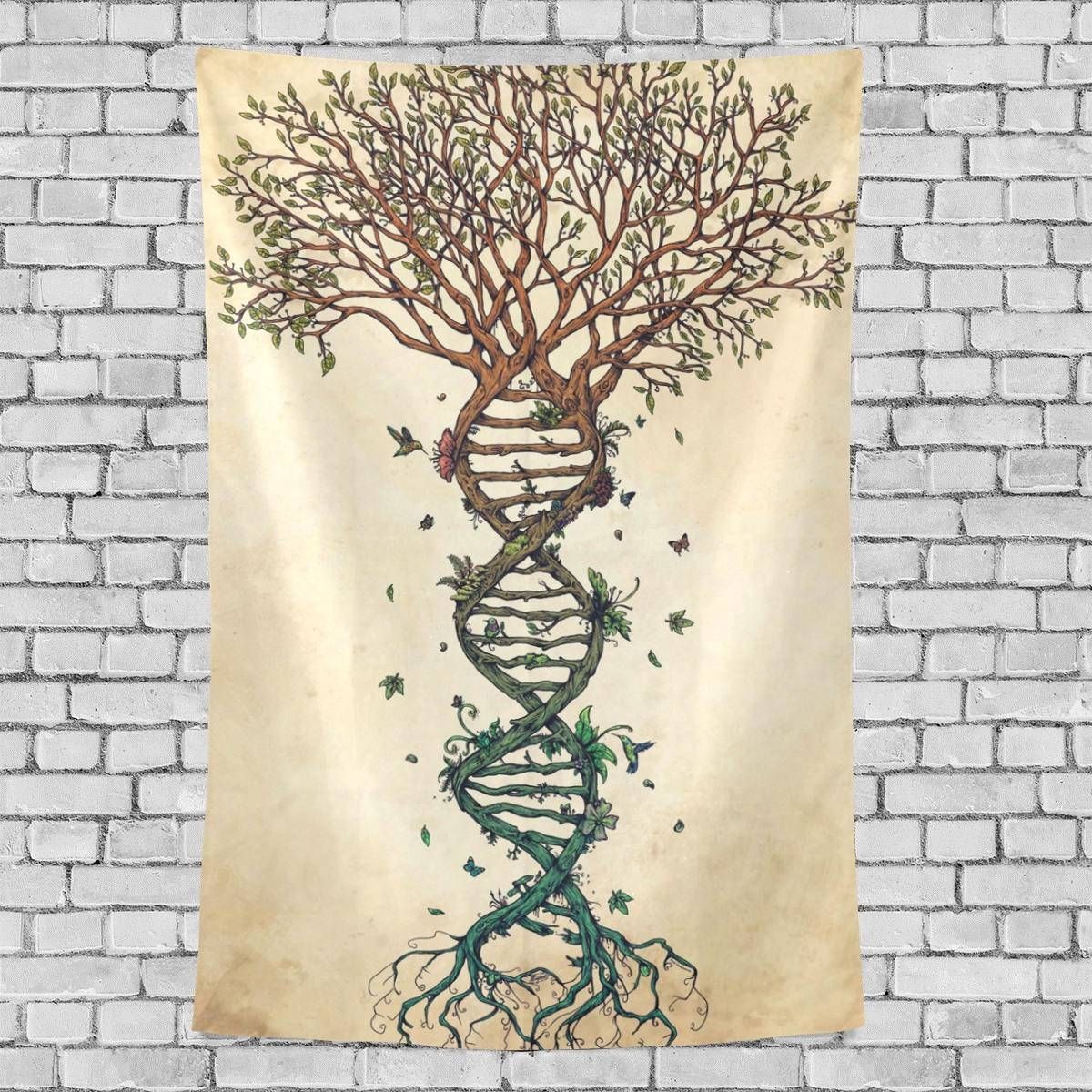 Celtic Tree Tapestry Ethnic Culture Wall Hanging Tree Of Life Intended For Newest Celtic Tree Of Life Wall Art (View 10 of 30)