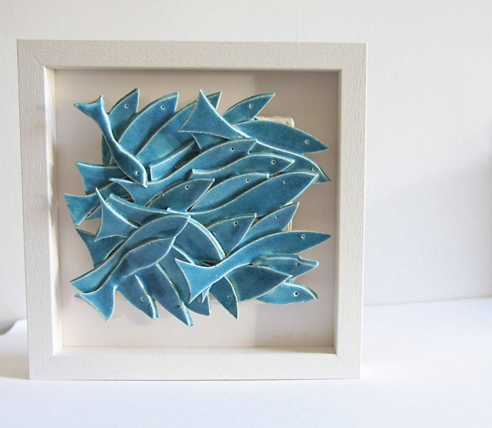 Ceramic Wall Decor Flower | Best Decoration Ideas For You Within Latest Italian Ceramic Wall Art (Gallery 27 of 30)