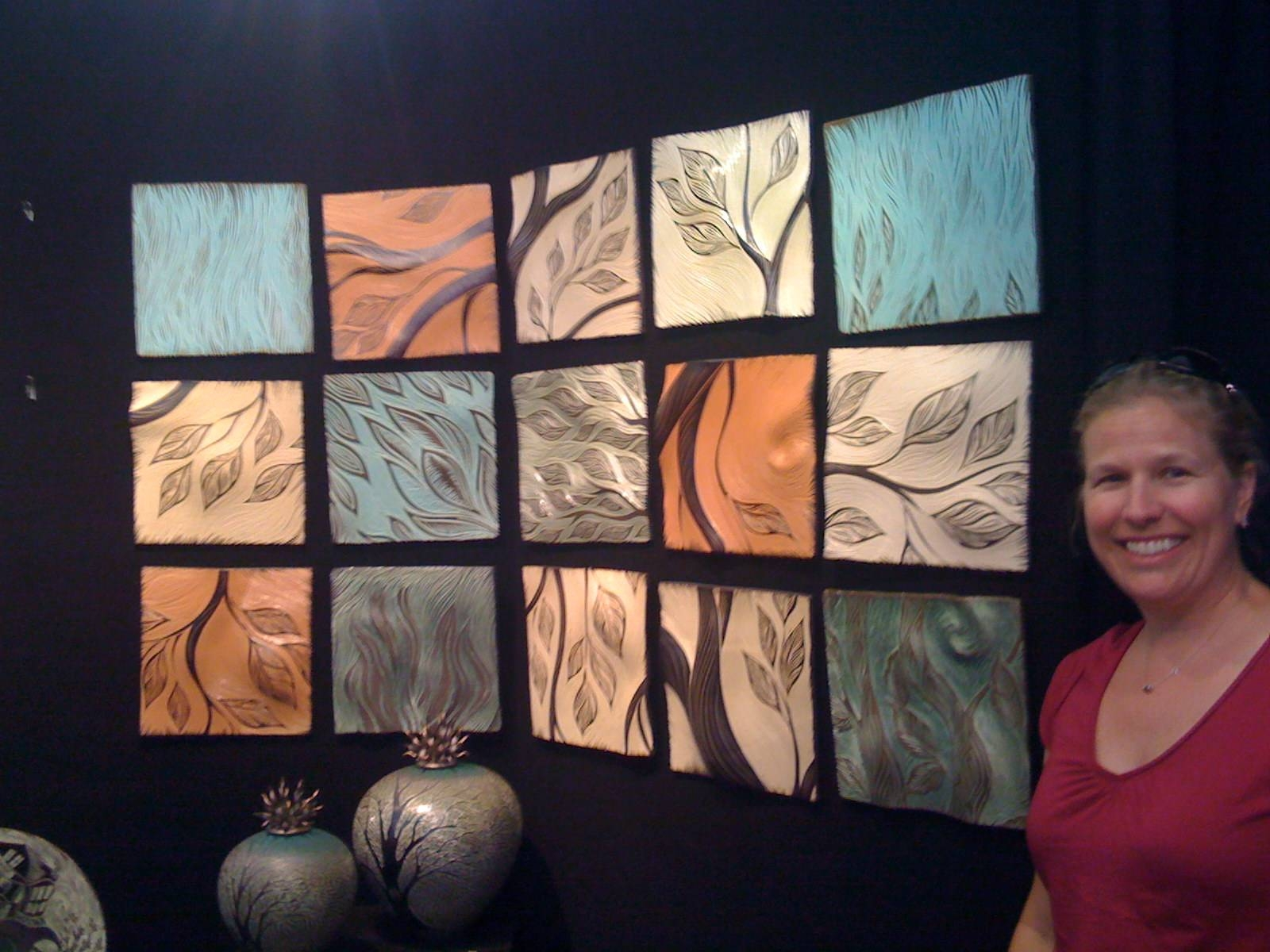 Ceramic Wall Tile Mural | Natalie Blake Studios Inside Newest Ceramic Tile Wall Art (View 15 of 20)