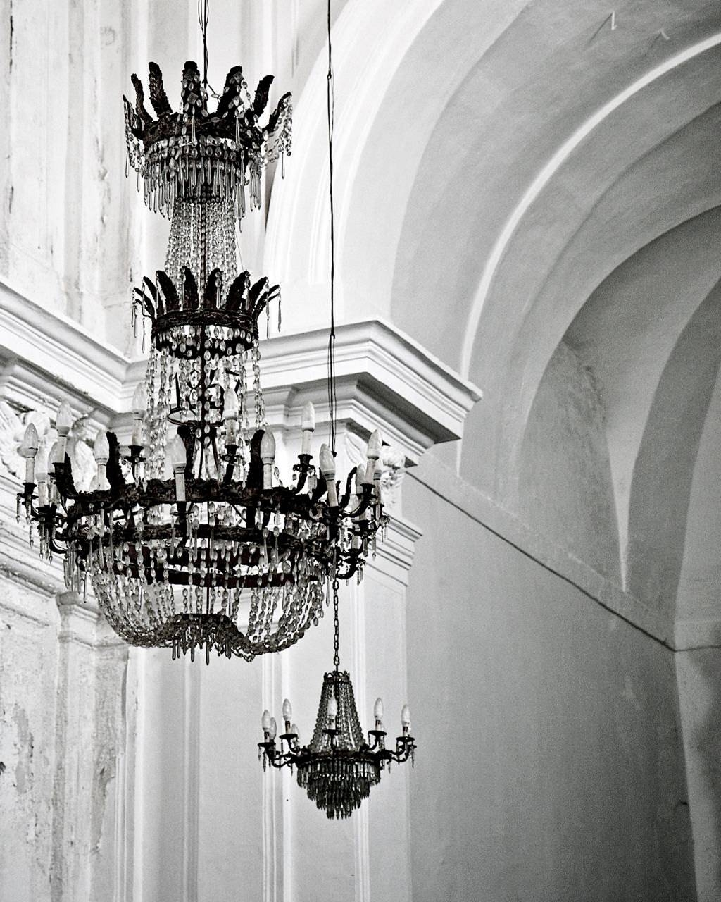 Chandelier Photography Black And White Photography In Recent Glamorous Wall Art (View 7 of 30)