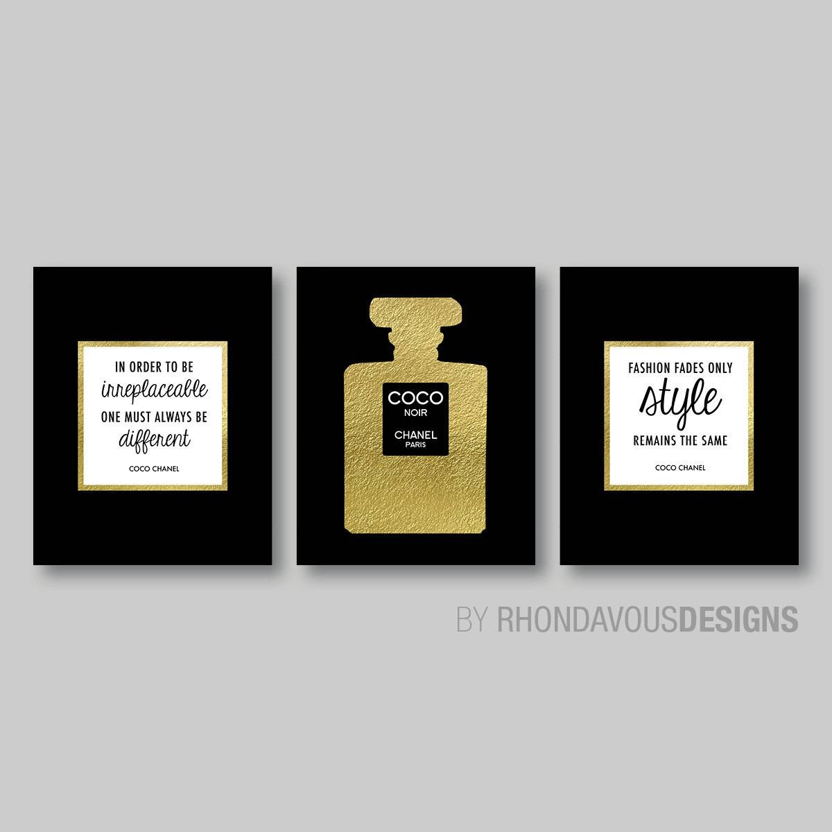 Chanel Wall Decor ~ Instadecor With Best And Newest Chanel Wall Decor (View 6 of 25)