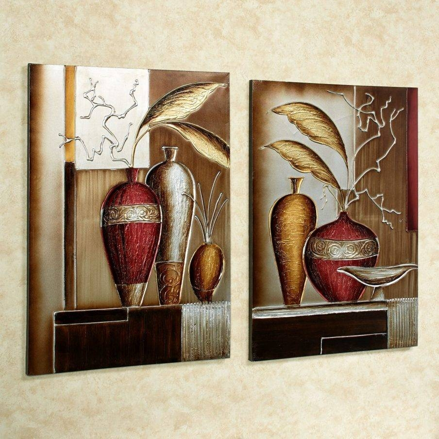 Charming 5 Piece Canvas Wall Art Amazon Foliage In Vases Canvas Regarding Latest Multiple Piece Canvas Wall Art (View 11 of 25)
