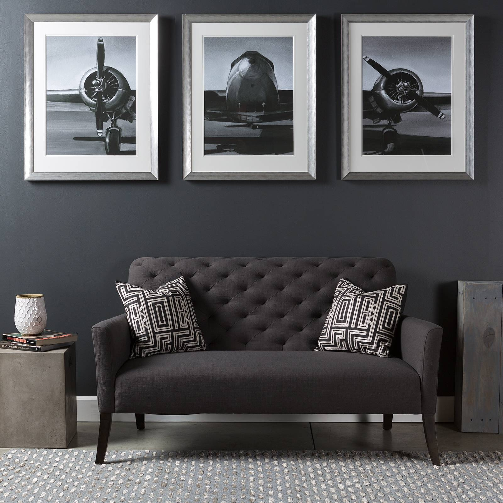 Charming Aviation Metal Wall Art Airplane Wall Art Modern Aviation With Regard To Latest Large Triptych Wall Art (View 19 of 20)