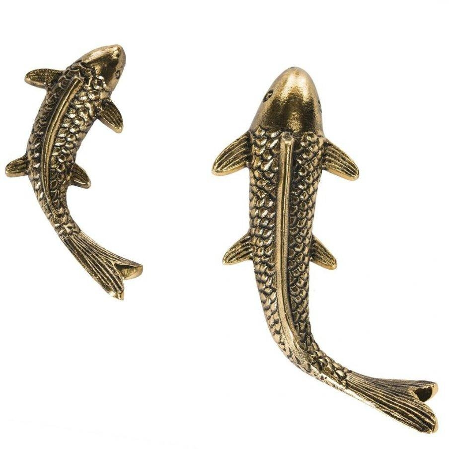 Charming Fish Wall Decor Silver Wood Fish Wall Decor Wall Decor For Latest Large Starfish Wall Decors (View 11 of 25)
