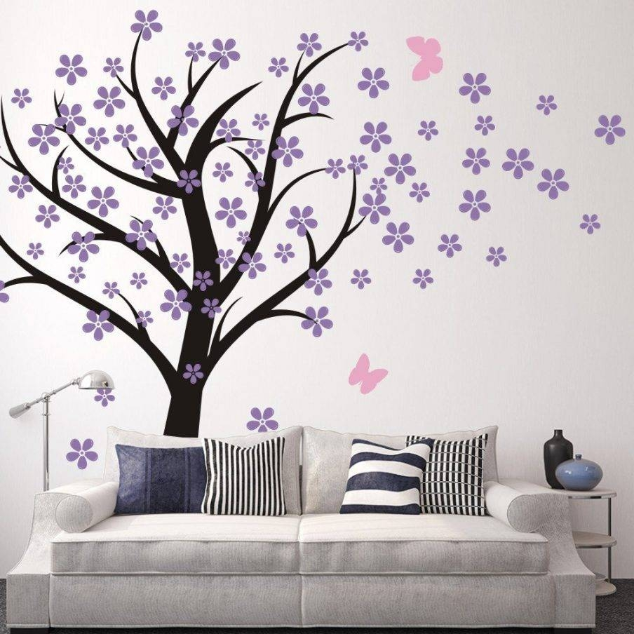 Chic Cherry Blossom Wall Decor Amazoncom Cherry Blossom Wall Wall With Regard To Most Up To Date Red Cherry Blossom Wall Art (View 17 of 30)