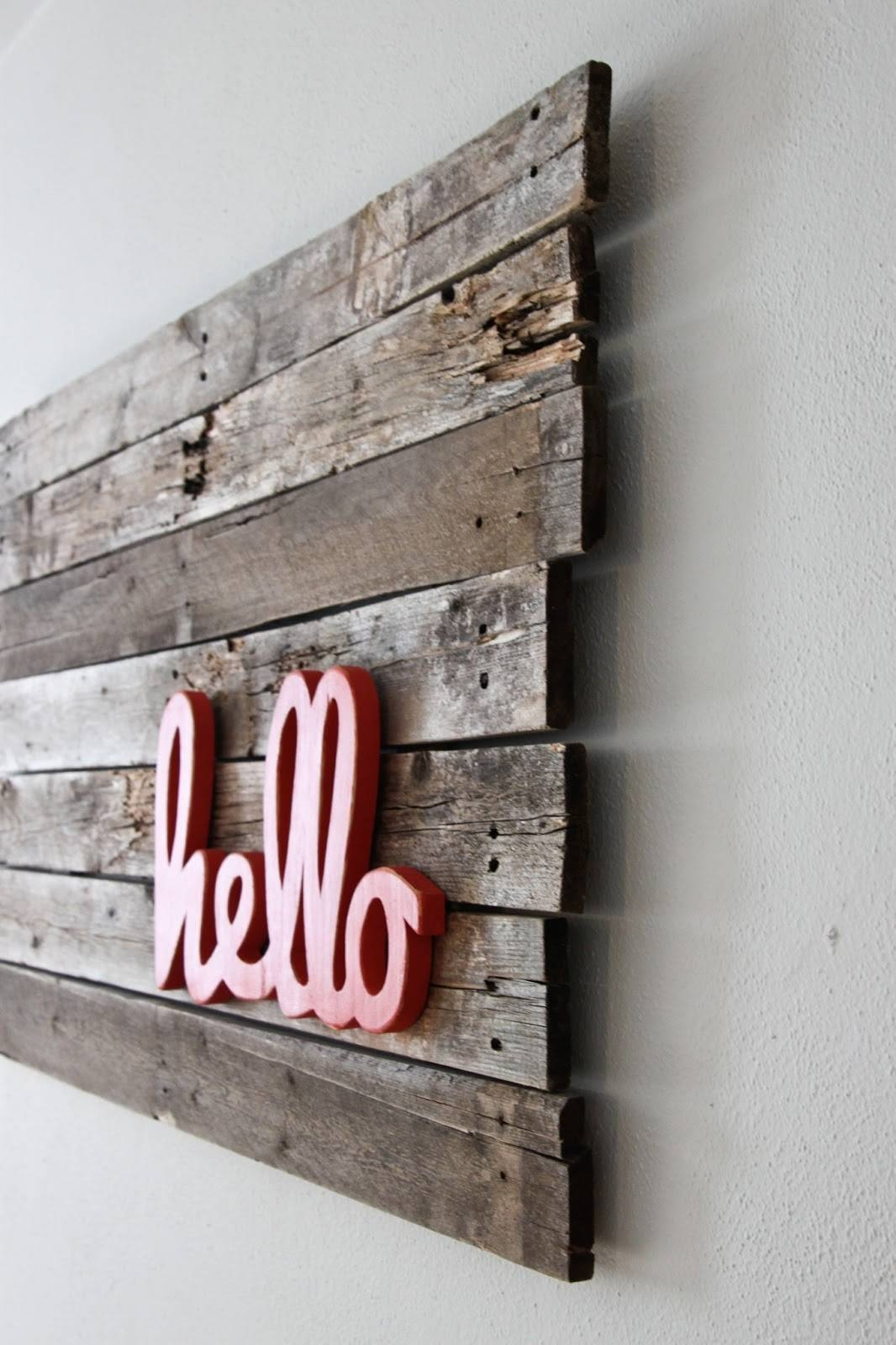 Chic Wall Ideas Word Wall Art Wall Wall Design Word Art For Walls With Recent Wooden Word Wall Art (View 2 of 30)