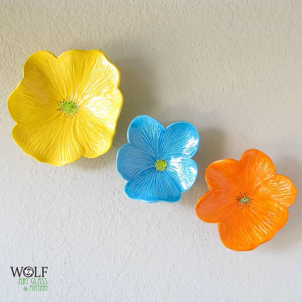 Christina Bryer | Art – Ceramics | Pinterest | Mandalas, Ceramic Pertaining To Most Current Ceramic Flower Wall Art (View 13 of 30)